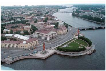 Bird S Eye View Of St Petersburg Photos St