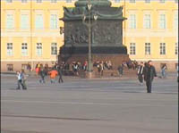 Work started in the reconstruction of the Palace Square