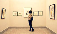 The exhibition of the German fine arts from collection of the Deutsche Bank