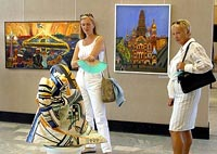 "Exhibition ""St. Petersburg Art of the XXth century"" opened in ""Manege"" central exhibition hall"