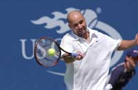 Tennis Stars Andre Agassi and Steffi Graf Coming to St. Petersburg Open 2002