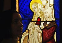 In the Hermitage the exhibition of stained-glass windows XV-XVII of centuries opens