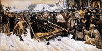 155th anniversary of Russian Painter Surikov today