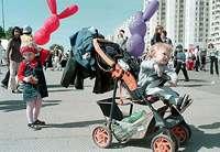 Children festival in Saint-Petersburg