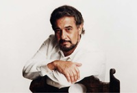 Plcido Domingo, one of the most hugely anticipated guests of the celebrations