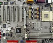 Motherboards with the symbol of the anniversary