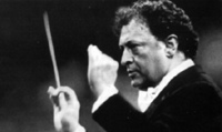 Zubin Meta, conductor of the Israeli State Philharmonic Orchestra