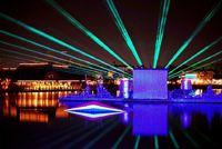 Hiro Yamagata's laser show