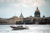 Heads of state to travel around Saint Petersburg on high-speed boats