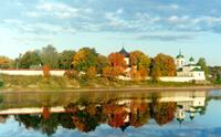 The historic center of Pskov