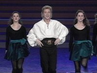 Michael Flatley, a world-famous dancer, comes to Saint-Petersburg