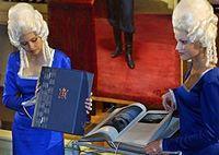 St. Petersburg tercentenary book presented