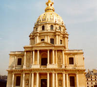 The cathedral of the Paris House of Invalids
