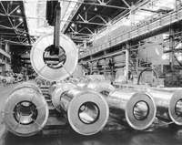 On the plant of the Severstal-group