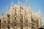 Milan's main attraction - the city cathedral
