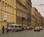 Streets of Saint-Petersburg