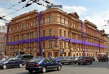 Hotel Investors Staying Away, Saint Petersburg Admits