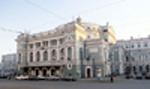 The present building of  Mariinsky Theater