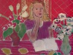 Henri Matisse: Femme aux Fleurs. Done by Elmyr in 1963