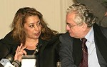 Zaha Hadid and Michael Piotrovsky