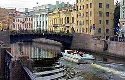 Rivers and canals of Saint-Petersburg
