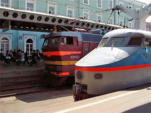 Moscow-Petersburg express railway