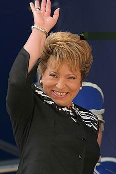 Governor Valentina Matvienko