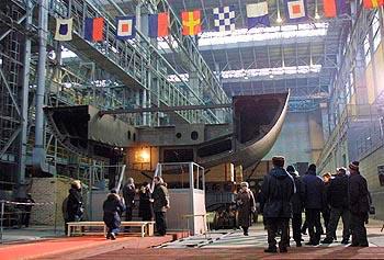 Severnaya Verf shipyard