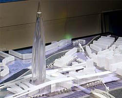 RMJM Project of Gazprom City
