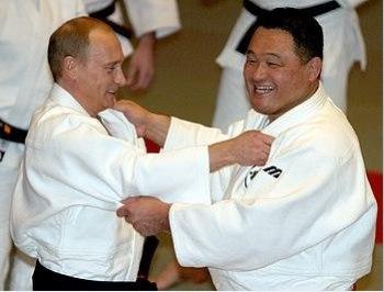 Putin and judo