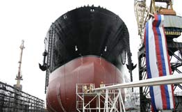 ice-class oil tanker