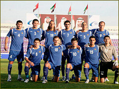 Azerbaijani national football team holds first match in Saint Petersburg