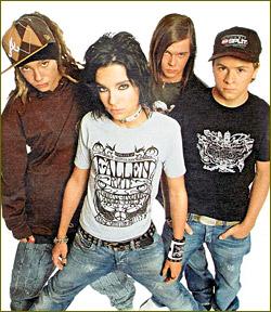 Concert of Tokio Hotel in Saint Petersburg Wrecked