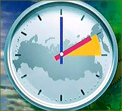 Russia switches to daylight saving time
