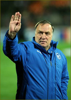 Russia appoint Advocaat as coach