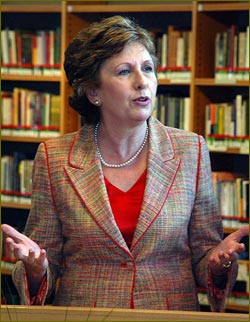 President of Ireland, Mary McAleese