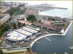 LenExpo Exhibition Complex in St, Petersburg, Russia