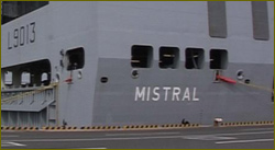 Mistral-class helicopter carriers