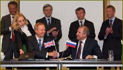 Russia & British