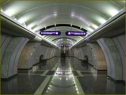 The St. Petersburg metro