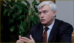 New St Petersburg Governor Georgi Poltavchenko
