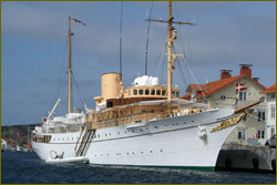 The Royal Yacht Dannebrog