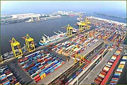 St Petersburg's First Container Terminal