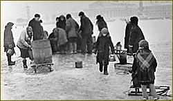 Blockade in Leningrad