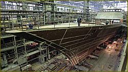 Russia's Severnaya Verf shipyard in St. Petersburg