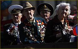 veterans of blockaded Leningrad