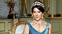 Mary Elizabeth, Her Royal Highness Crown Princess, Crown Princess of Denmark, Countess of Monpezat