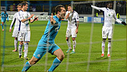 Kerzhakov and Zenit get better of Anderlecht again