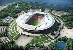 More Problems for St Petersburg World Cup Stadium