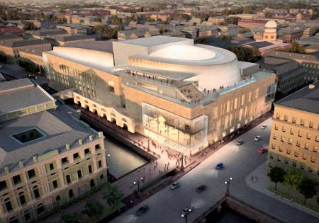 Mariinsky II Opera House opens to the public